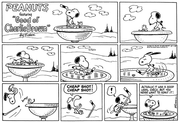 Datei:Peanuts Comic Strip Woodstock Snoopy.png