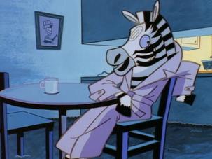 Things That Go Bonk in the Night zebra