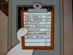 Detention List