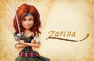 Zarina- Pirate Fairy