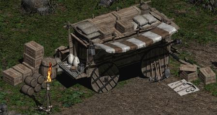 File:Diablo II Gheed cart.JPG