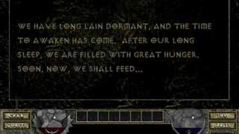 Diablo I Hellfire - Hive Taunting 1