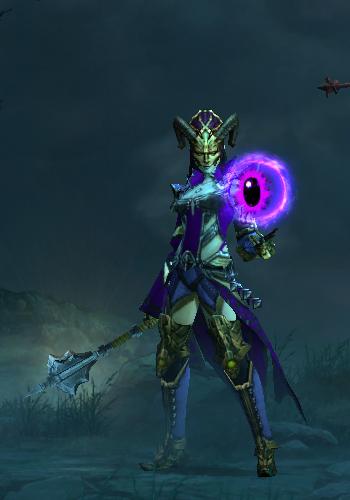 Diablo  Wizard Tal Rasha Vyr Build