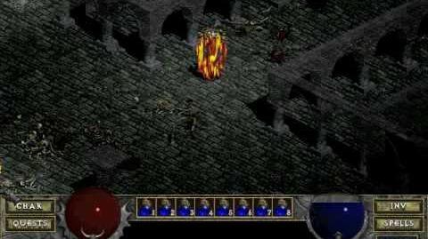 Diablo 1 spells - Elemental (by Decimius)