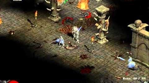 Diablo II - Andariel Battle (HD)