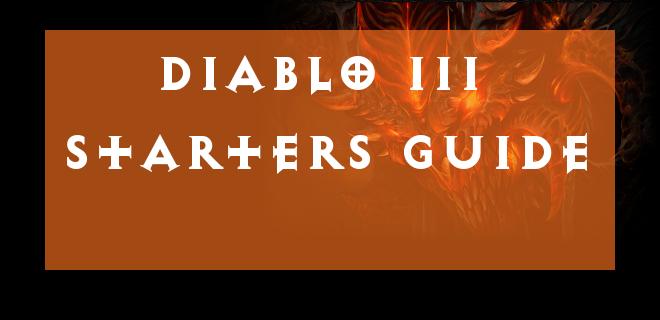 Diablo III Starter Guide Header