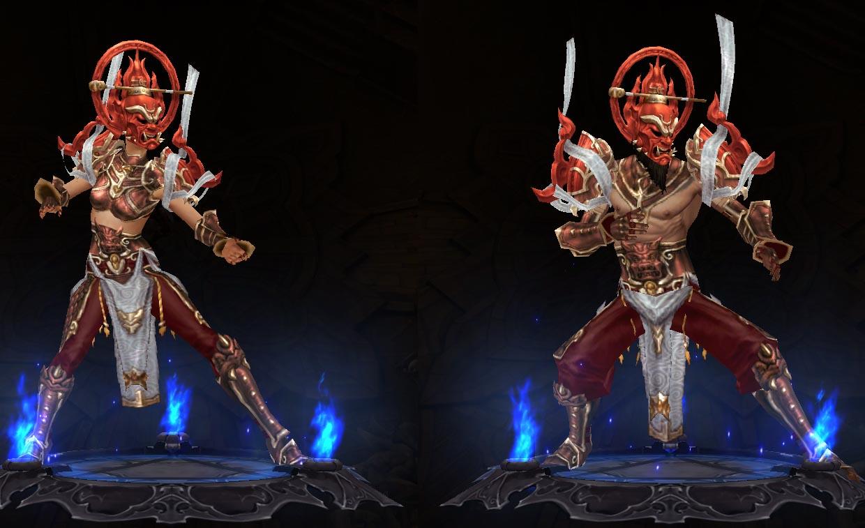 Diablo  Monk Build With No Gear