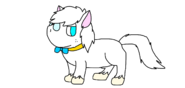 Milo as a Stallion (Pony)