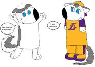 Thomas, the LA Lakers fan
