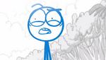 Blue- Oh my god, deserted island