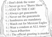 10 rules of mexico