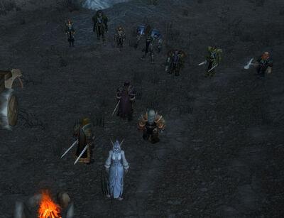 Orodaro und Renfray werden umstellt.