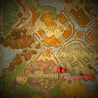 Standort der Wanderapotheke im Magierviertel