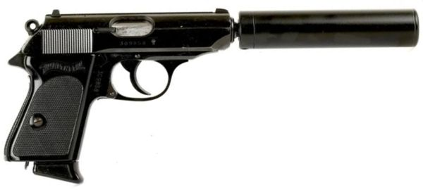 Walther PPK   Di...P99 Airsoft Pistol With Silencer