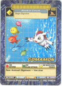 Gomamon St-155 (DB)