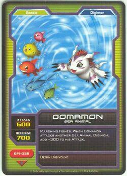 Gomamon DM-038 (DC)