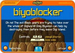Biyoblocker Game