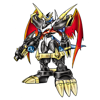 Imperialdramon Fighter Mode b