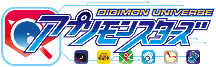 「Digimon Universe Appli Monsters logo」の画像検索結果
