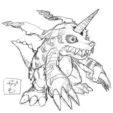 File:Digimon World Re-Digitize Gabumon concept art.jpg