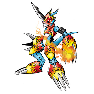Flamedramon b