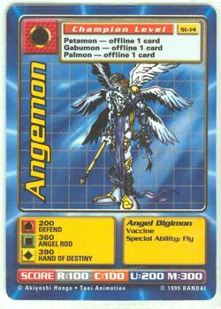 Angemon St-14 (DB)
