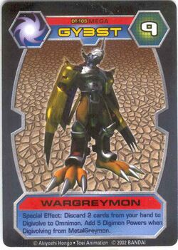 WarGreymon DT-105 (DT)