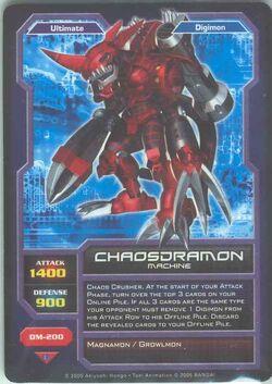 Chaosdramon DM-200 (DC)