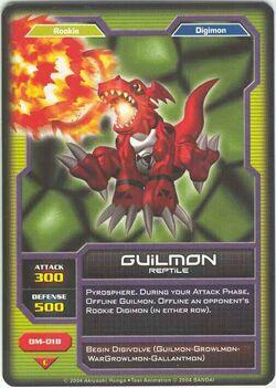 Guilmon DM-018 (DC)