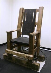 Nebraska's electric chair