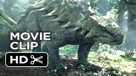 Jurassic World Movie CLIP - Dinosaurs in the Woods (2015) - Chris Pratt Movie HD
