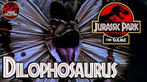 Jurassic Park The Game DILOPHOSAURUS Behind the Scenes