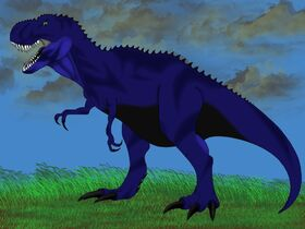 Midnight t-rex form by dude2277-d4903n6