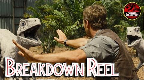 JURASSIC WORLD Breakdown Reel Imagine Engine VFX Behind the Scenes Chris Pratt