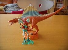 Aisha e lo spinosauro
