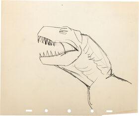 Fantasia Rite of Spring Dinosaur Animation Drawing Group 1
