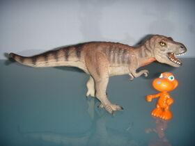 Buddy e il tirannosauro