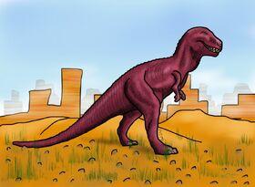 Tyrannosaurus rex by hairydalek-d5mfcnf
