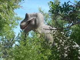 Calgary Zoo tyrannosaurus