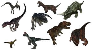 Dino Crisis 2 Dinosaurs