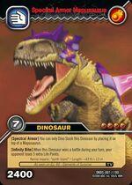 Mapusaurus armor TCG card