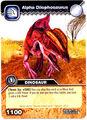 Alpha Dilophosaurus TCG