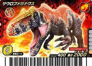 Saurophaganax card