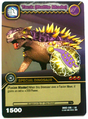 Saichania - Tank Battle Mode TCG Card 3-DKBD-Silver
