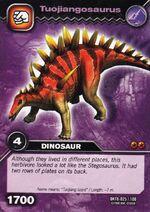Tuojiangosaurus TCG Card