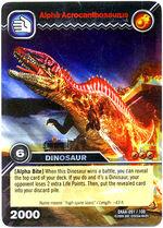 Acrocanthosaurus alpha TCG card