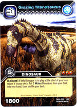 Grazing Titanosaurus
