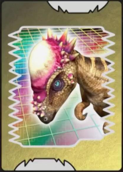 Image pachycephalosaurus card dinosaur king - Dinosaure king ...