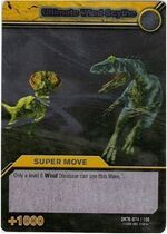Ultimate Wind Scythe TCG Card 1-Silver