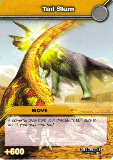TCG Move Cards | Dinos... Ampelosaurus Dinosaur King